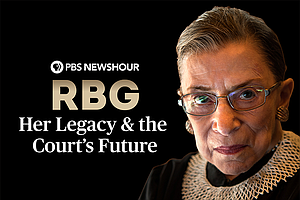 Photo for RBG: Her Legacy & The Court's Future, A PBS NEWSHOUR Special