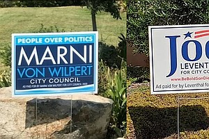 Photo for Von Wilpert Leading Levanthal In Race For San Diego City Council District 5 Seat