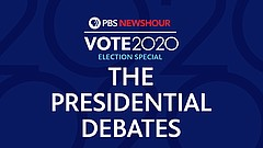 PBS NEWSHOUR: A Special Report: 2020 Presidential Debate