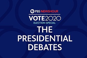 Photo for PBS NEWSHOUR: A Special Report: 2020 Presidential Debate