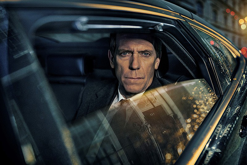 Hugh Laurie as Peter Laurence in ROADKILL On MASTERPIECE. Ambition knows no b...