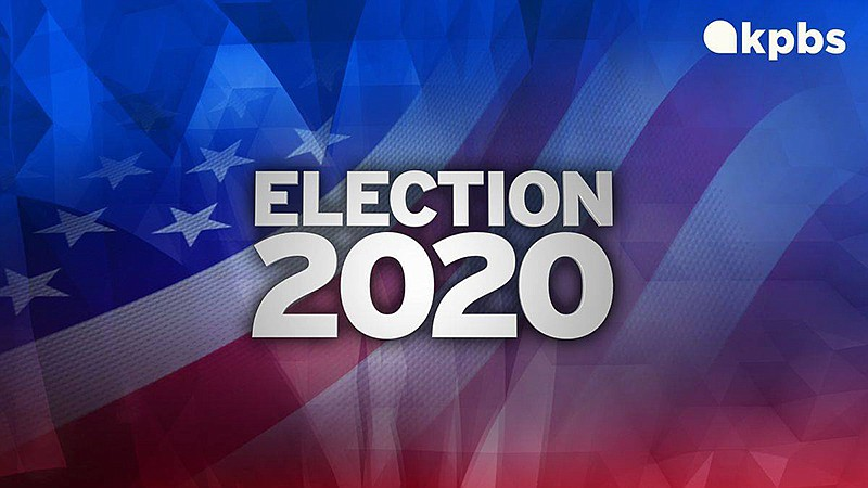 KPBS News Election 2020 graphic