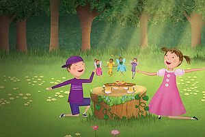 Photo for PINKALICIOUS & PETERRIFIC: A Fairy Thanksgiving / Pinkfoot Playdate