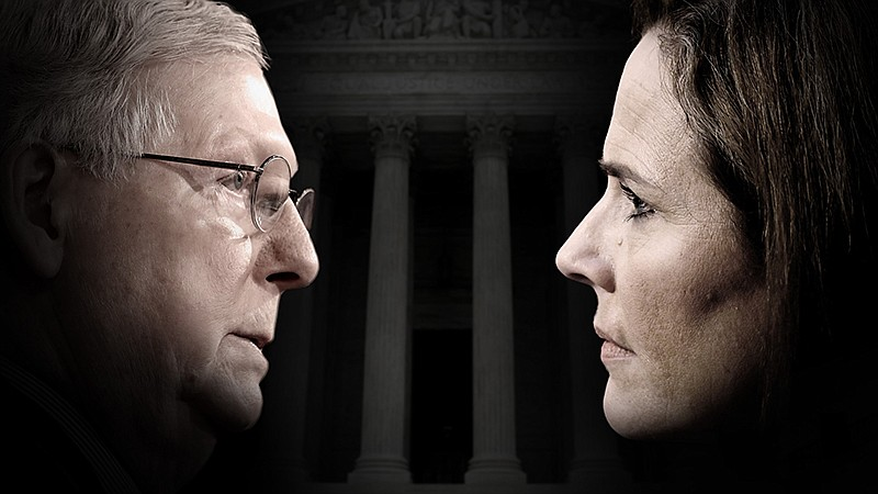 How a partisan war for the Supreme Court culminated in Amy Coney Barrett's co...