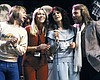 Left to right: ABBA members Björn Ulvaeus, Agne...