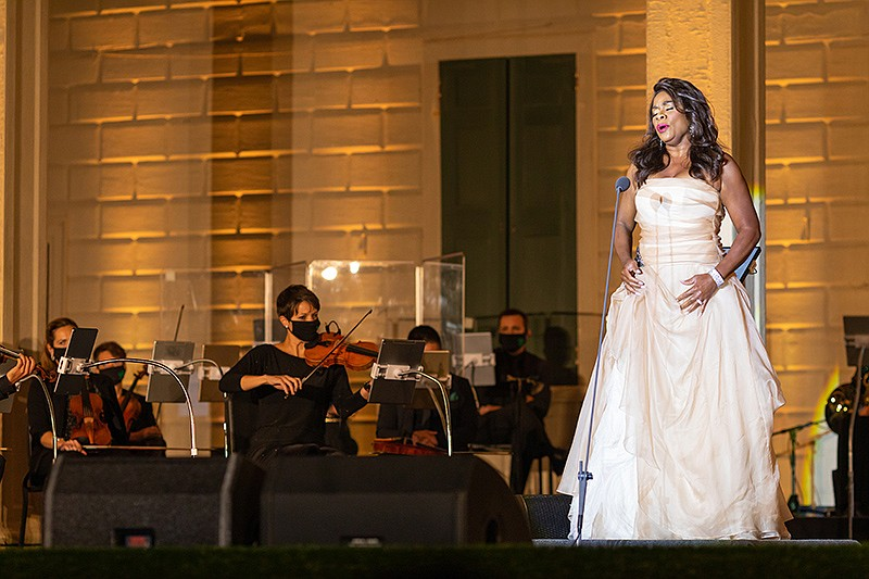 International operatic superstar Denyce Graves performs with the American Pop...