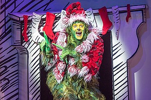 Photo for THEATRE CORNER: Backstage: The Old Globe's Grinch