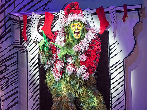 Edward Watts as The Grinch in