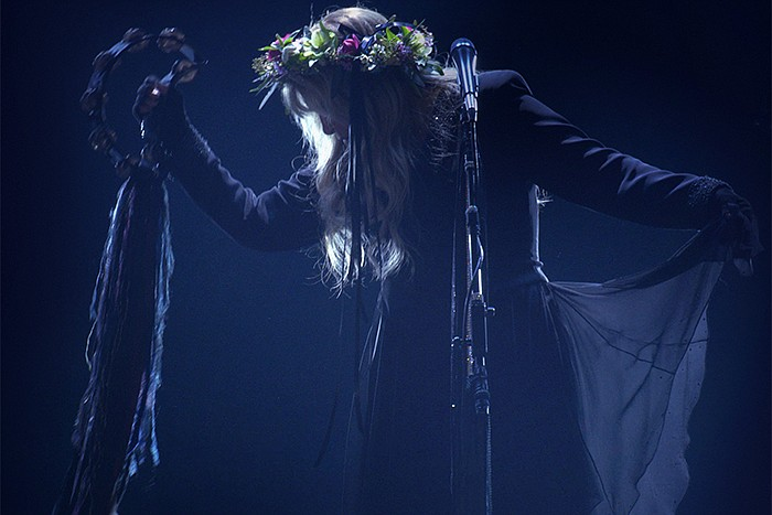 Grammy Award winner and two-time Rock & Roll Hall of Fame inductee Stevie Nicks.