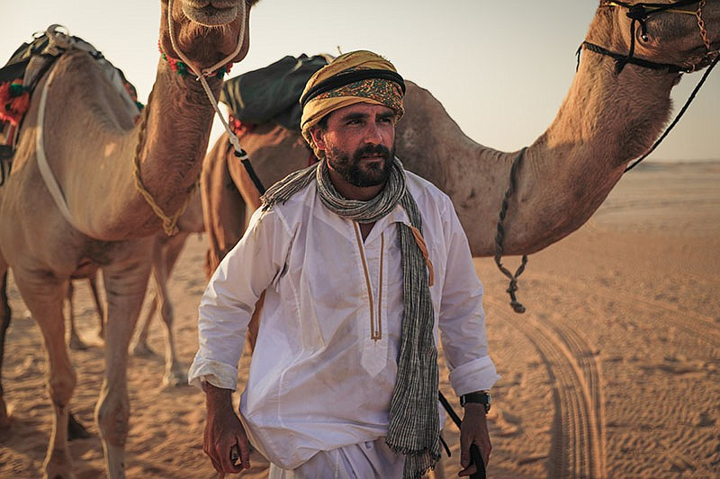 In ARABIA WITH LEVISON WOOD, the military-trained writer and photographer emb...