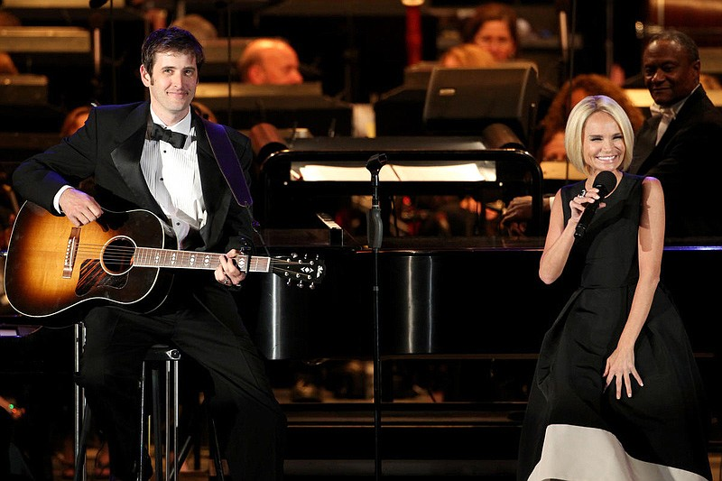 Kristin Chenowith (right) featured in the new series IN CONCERT AT THE HOLLYW...