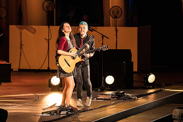 Rodrigo y Gabriela, featured in the new series IN CONCERT AT THE HOLLYWOOD BOWL.