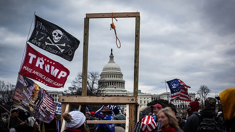 Trump supporters attacked the nation's capital on Jan. 6, 2021 in protest of ...