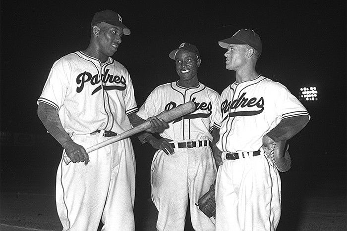 Luke Easter, Artie Wilson, and Johnny Ritchey integrated the minor-league San...