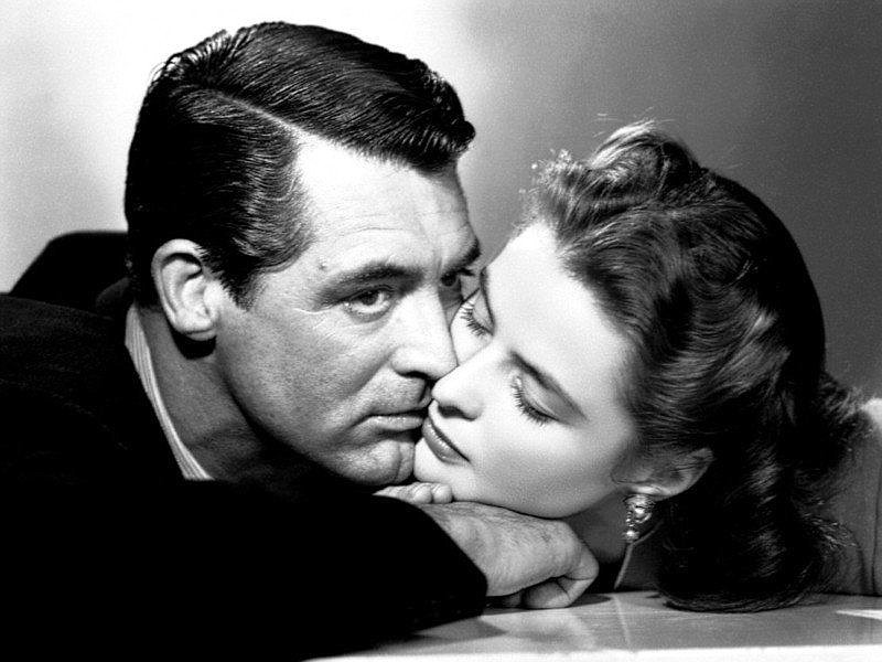 Cary Grant and Ingrid Bergman star in Alfred Hitchcock's