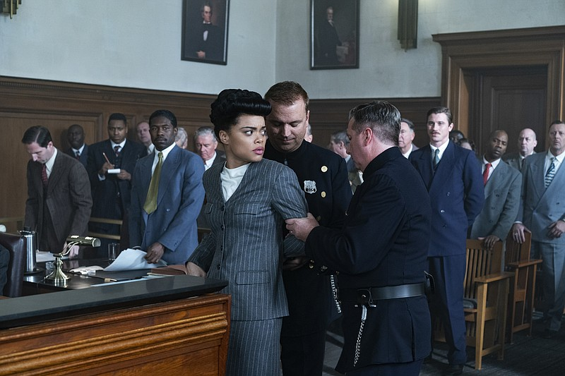Andra Day stars as legendary blues and jazz singer Billie Holiday in the new ...
