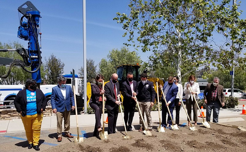 Transit, city officials and developers break ground on Union Grantville housi...