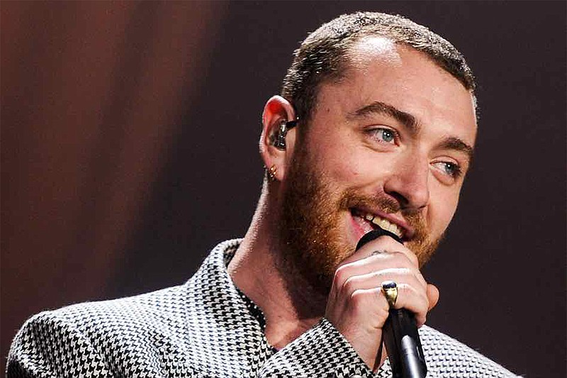 Grammy, Golden Globe and Academy Award-winner Sam Smith performs in May 2018 ...