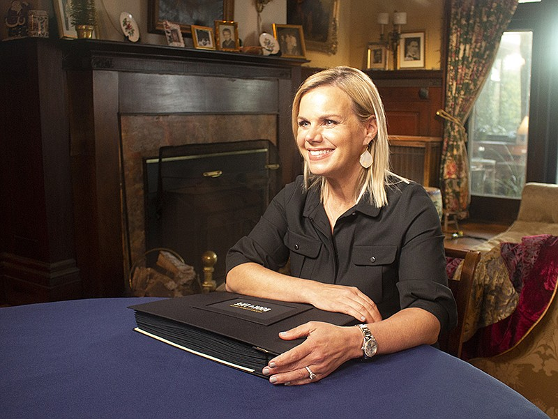 Gretchen Carlson on FINDING YOUR ROOTS