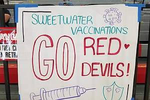 Photo for Sweetwater High School Hosts Youth Vaccination Clinic