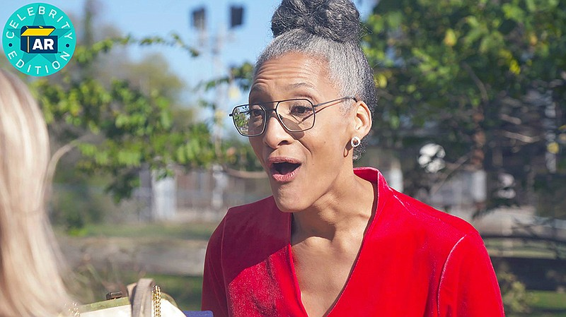 ChefCarla Hall reacts to an ANTIQUES ROADSHOW appraisal at her Washington, D...