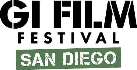 GI Film Festival San Diego Logo for Virtual Event from May 18-23 2021.