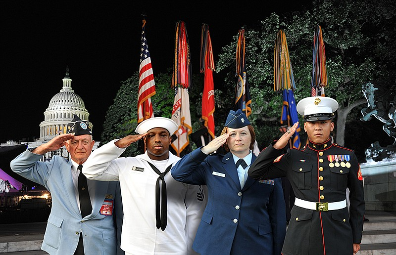 Military salute. Tune in to the 32nd annual broadcast of America's national n...