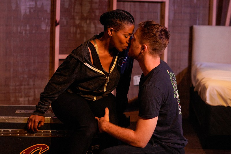 Amina (Tina Machale Brown) and Ryan (Devin Wade) are Cleveland police officer...