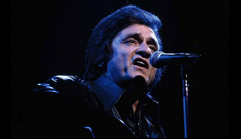 Johnny Cash in a never-before-seen 1973 concert recently found in Sony Music ...