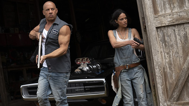 Vin Diesel and Michelle Rodriguez reprise their roles as Dom and Letty for th...
