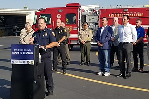 Photo for San Diego County Agencies Ready To Fight Wildfires