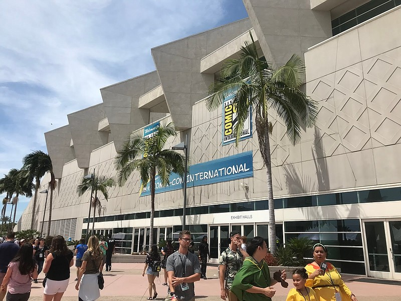 There will not be an in-person Comic-Con this summer only a virtual one. The ...