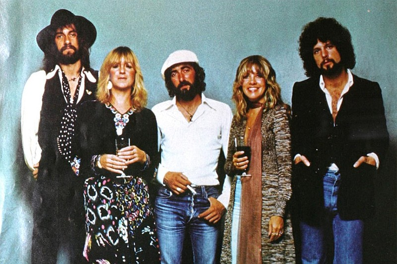 Group photograph of Fleetwood Mac for their album