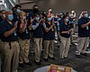 San Diego Convention Center employees applaud d...
