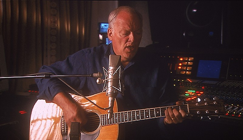 David Gilmour, guitarist and co-lead vocal for Pink Floyd. (undated photo)