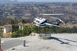 Photo for San Diego County's First 'Heli-Hydrant' Ready For Duty As Wildfire Season Pea...