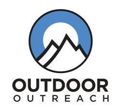 Logo for Outdoor Outreach, a nonprofit organization whose mission is to empower at-risk and underprivileged youth to make positive, lasting changes in their lives through comprehensive outdoor programming.