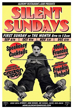 Promotional graphic for Silent Sundays, the first Sunday ...