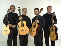 The Brazilian Guitar Quartet: Tadeu Do Amaral, Clemer Andreotti, Luiz Mantovani, and Everton Gloeden