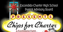 Promotional graphic for Chips for Charter Fundraiser on O...