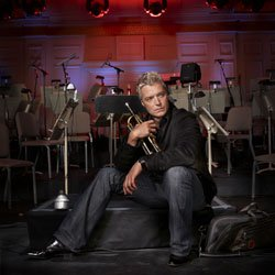 Trumpeter Chris Botti, a gifted instrumentalist and a charismatic performer in the realm of contemporary jazz.