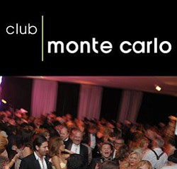 Promotional graphic for Club Monte Carlo at the Museum of Contemporary Art on September 12.