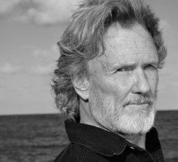 head shot of Kris Kristofferson