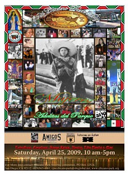 Promotional graphic for the 40th Chicano Park Day Celebra...