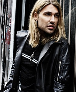 Promotional photo of virtuoso violinist David Garrett. Co...