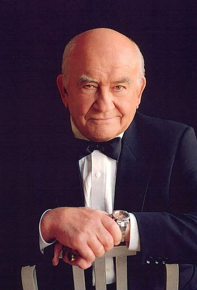 Ed Asner as FDR