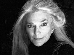 Judy Collins in black and white. She performs at 4th&B on...