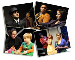 Cast members of the 25th Season of Plays by Young Writers