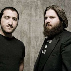 Image of Zach Smith and Rob Crow of Pinback, who will be performing at the Del Mar Summer Concert Series on July 23.