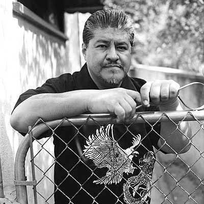 Image of author Luis Rodriguez who will be at the San Diego City College International Book Fair on October 1, 2010.